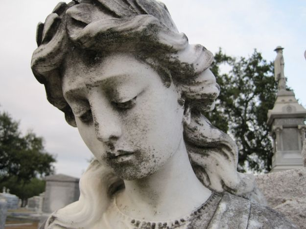 cemetery statue